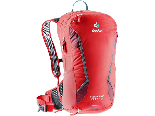 Deuter Race EXP Air Rugzak 14+3l, chili/cranberry
